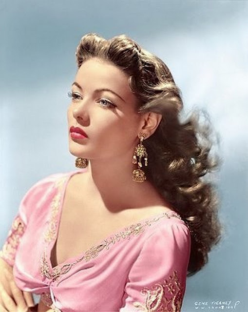 glamorous color photos of beautiful actresses from hollywoods golden age. Black Bedroom Furniture Sets. Home Design Ideas