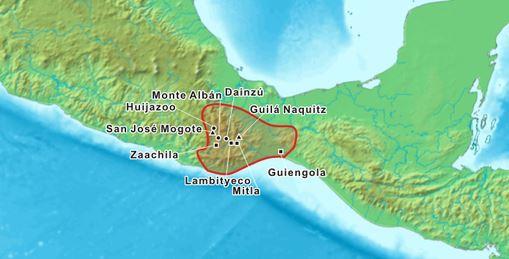 area de desarollo cultura zapoteca