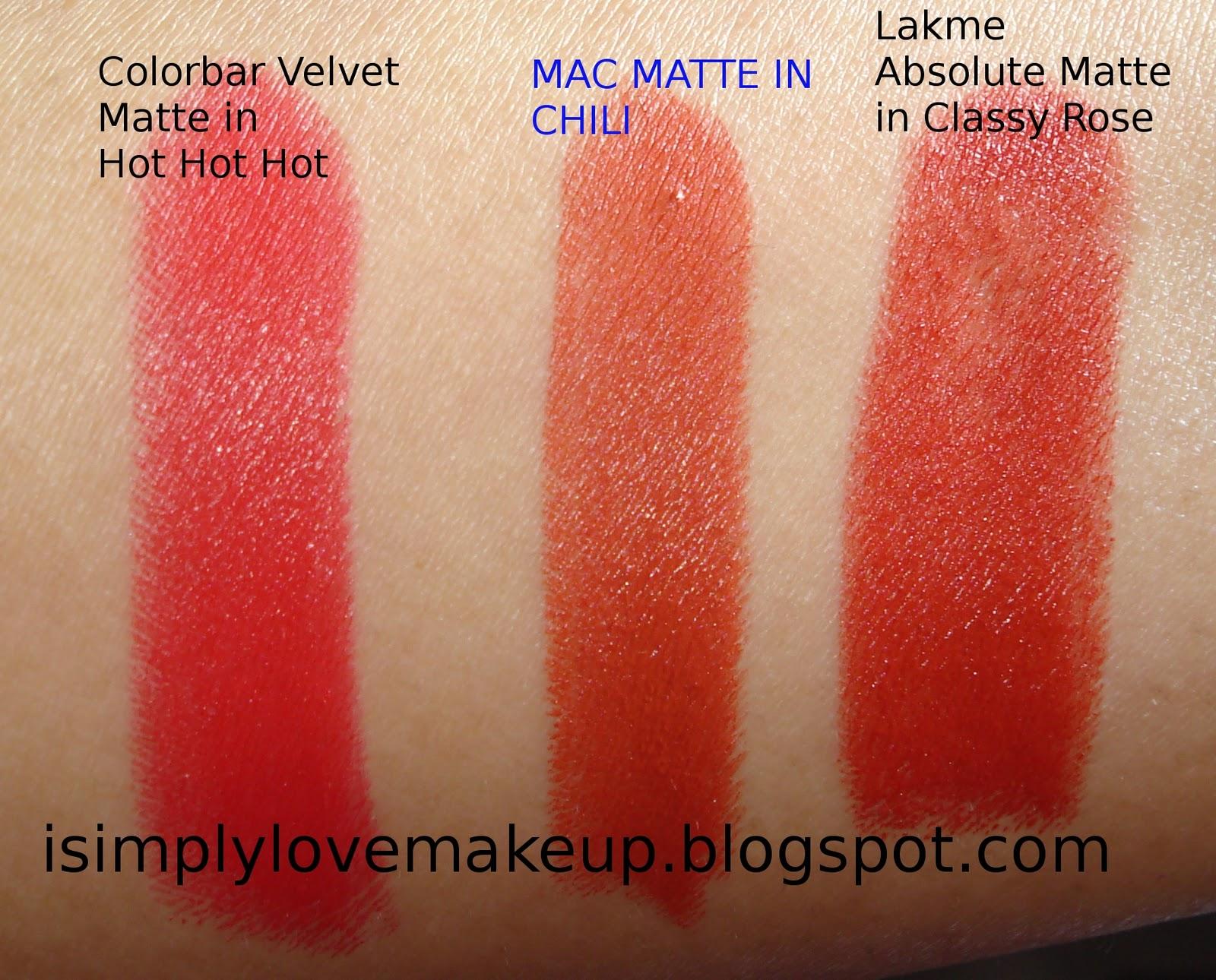 Amato REVIEW & LOTD: MAC Matte Lipstick in Chili YS47