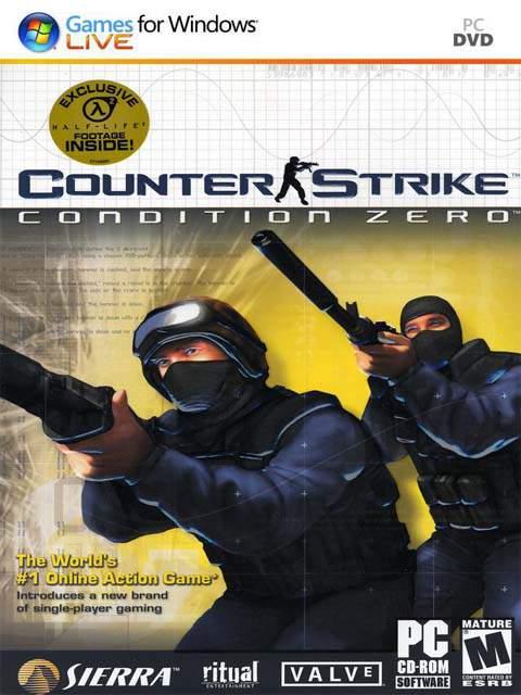 تحميل لعبة Counter Strike Condition Zero مضغوطة برابط واحد مباشر + تورنت كاملة مجانا
