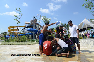 Paket Outbound di Jogja Bay Murah, Waterpark Jogja