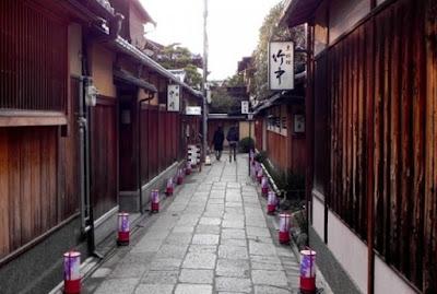 Selfie Di Kota Tua Ishibe Koji, Jepang