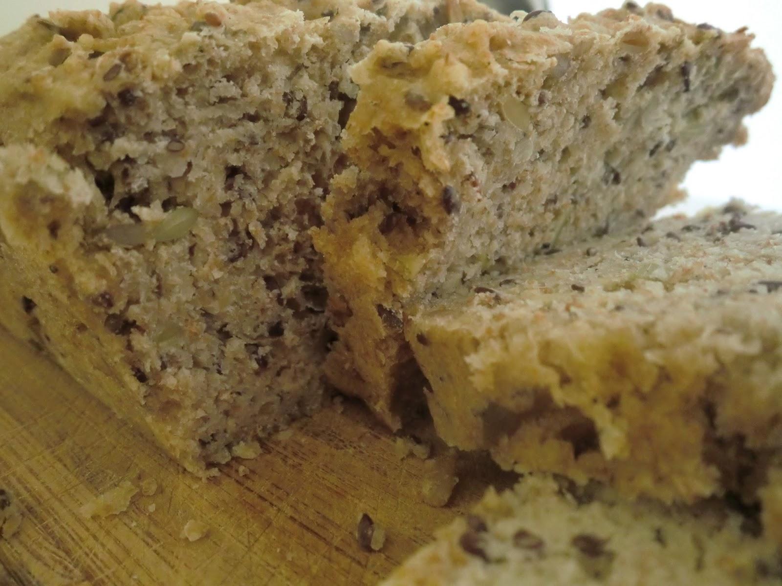 Kabak Çekirdekli Ekmek