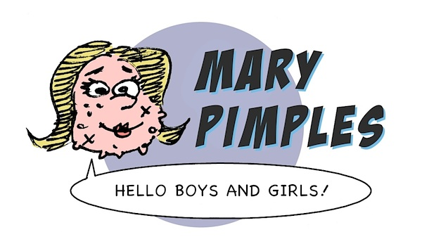 Mary Pimples cartoon, Lagendyk, Mary Worth