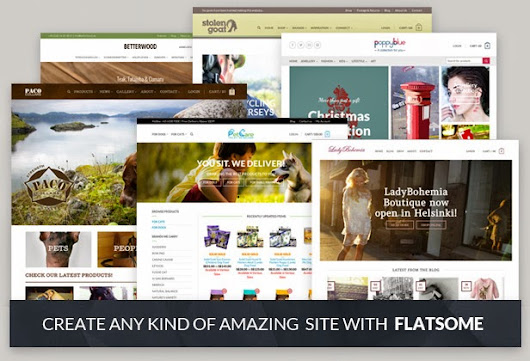 The Ultimate Top 5 Responsive Themes for Woocommerce in 2014
