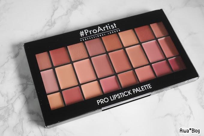 :: รีวิวพาเลตลิปโทนสุภาพ สุดคุ้มค่า FREEDOM #ProArtist Pro Lipstick NAKED ::