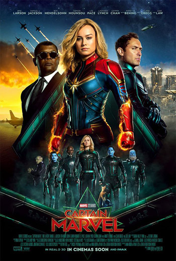 Captain Marvel 2019 Dual Audio Hindi NEW HDCam 480p 300MB