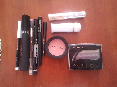 cosmetics swatche
