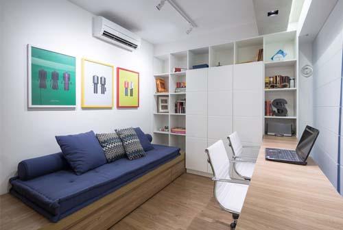 Open space moderno e accogliente