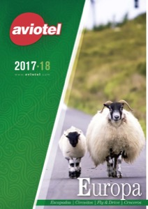 Catálogo de viajes Aviotel Europa 2018