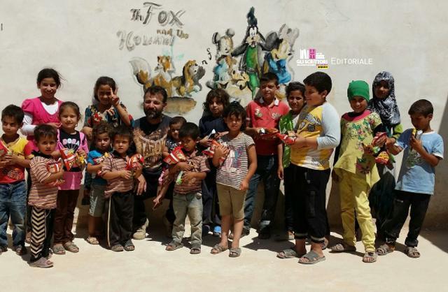 Rami Adham, papà onorario dei bambini siriani