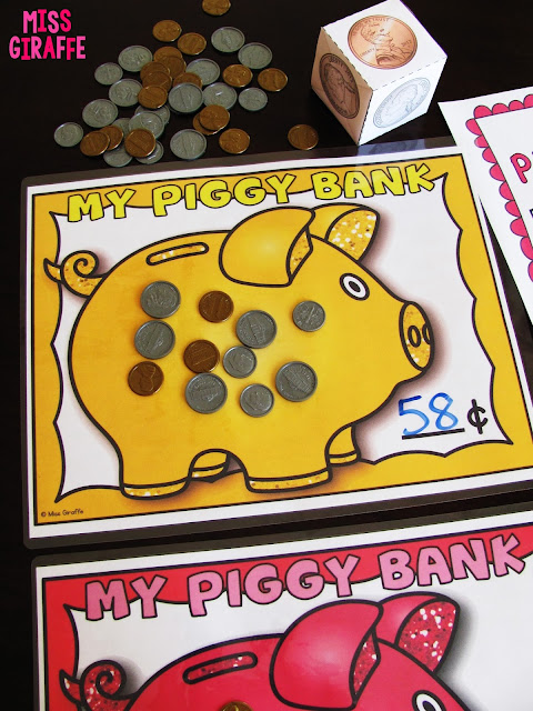 Amazing collection of money games and coin activities for learning coins!