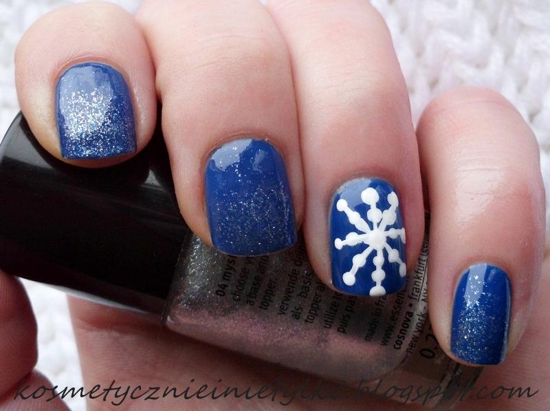 Kosmetycznie I Nie Tylko Blog Kosmetyczny świąteczne Paznokcie