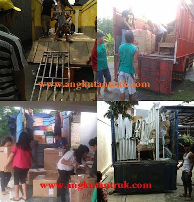 Angkutan Truk di Mojokerto