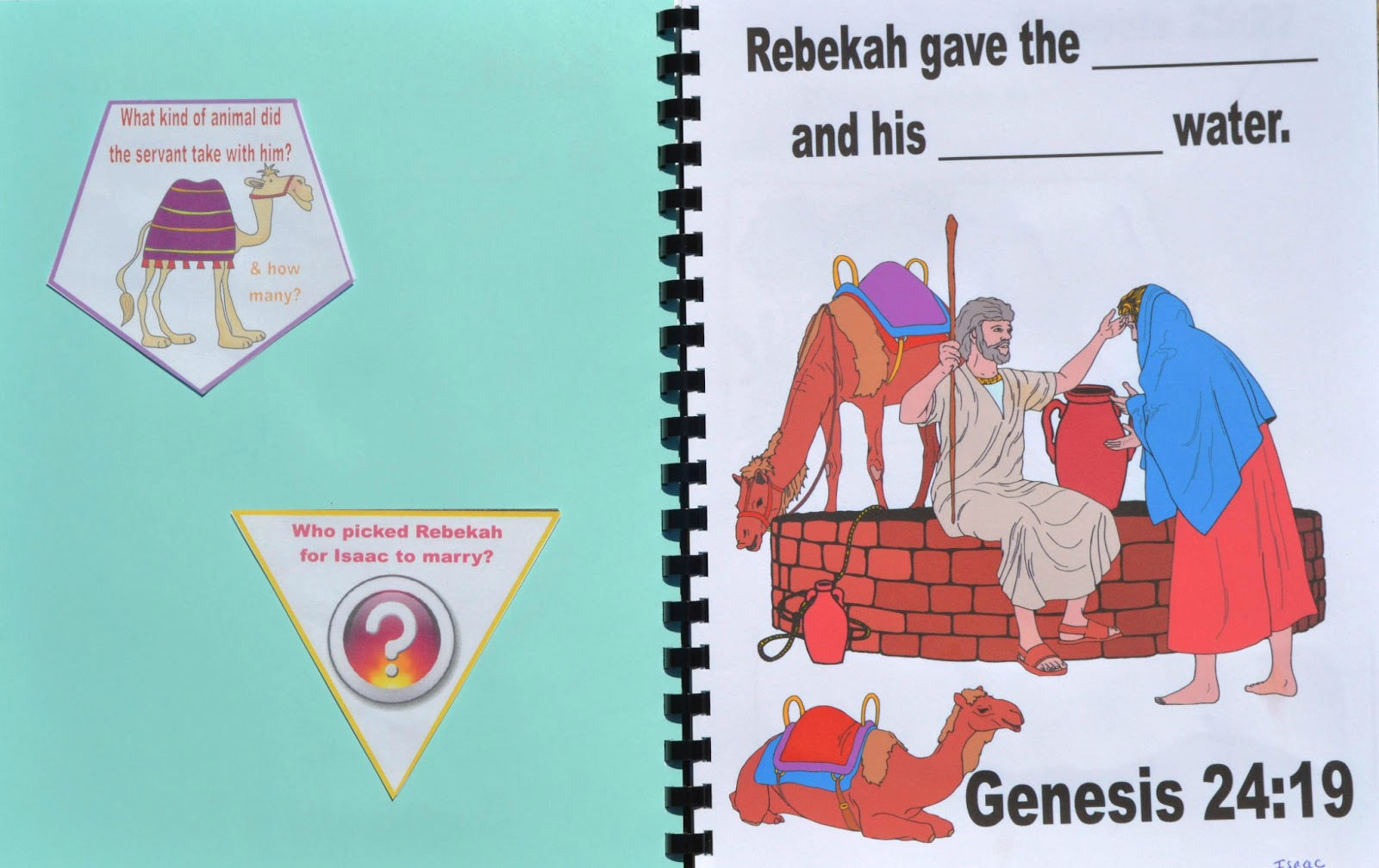 Bible Fun For Kids Genesis Isaac Rebekah