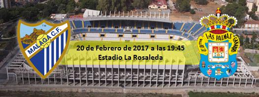 Previa Málaga CF - UD Las Palmas 20 Febrero 2017