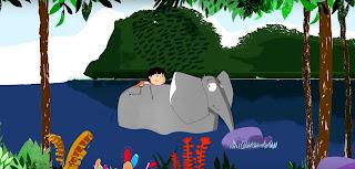 Ένα πανέμορφο animation για το «Ελεφαντάκι» του Φοίβου Δεληβοριά
