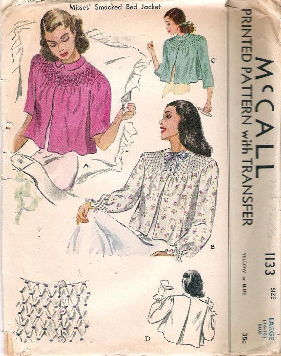 Bed Jackets Patterns : jackets, patterns, Pattern, Boldness:, Whatever, Happened, Jacket?