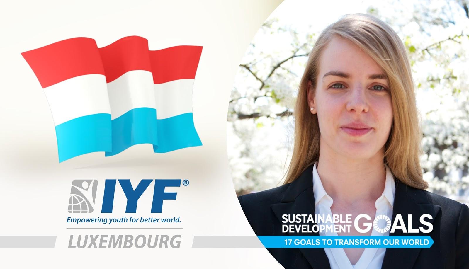 Caroline Gasparro, IYF Representative in Luxembourg