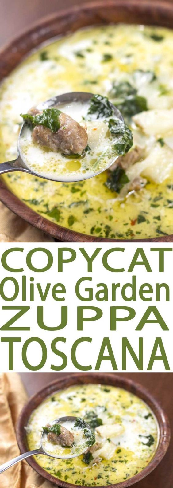 BEST COPYCAT ZUPPA TOSCANA SOUP RECIPE