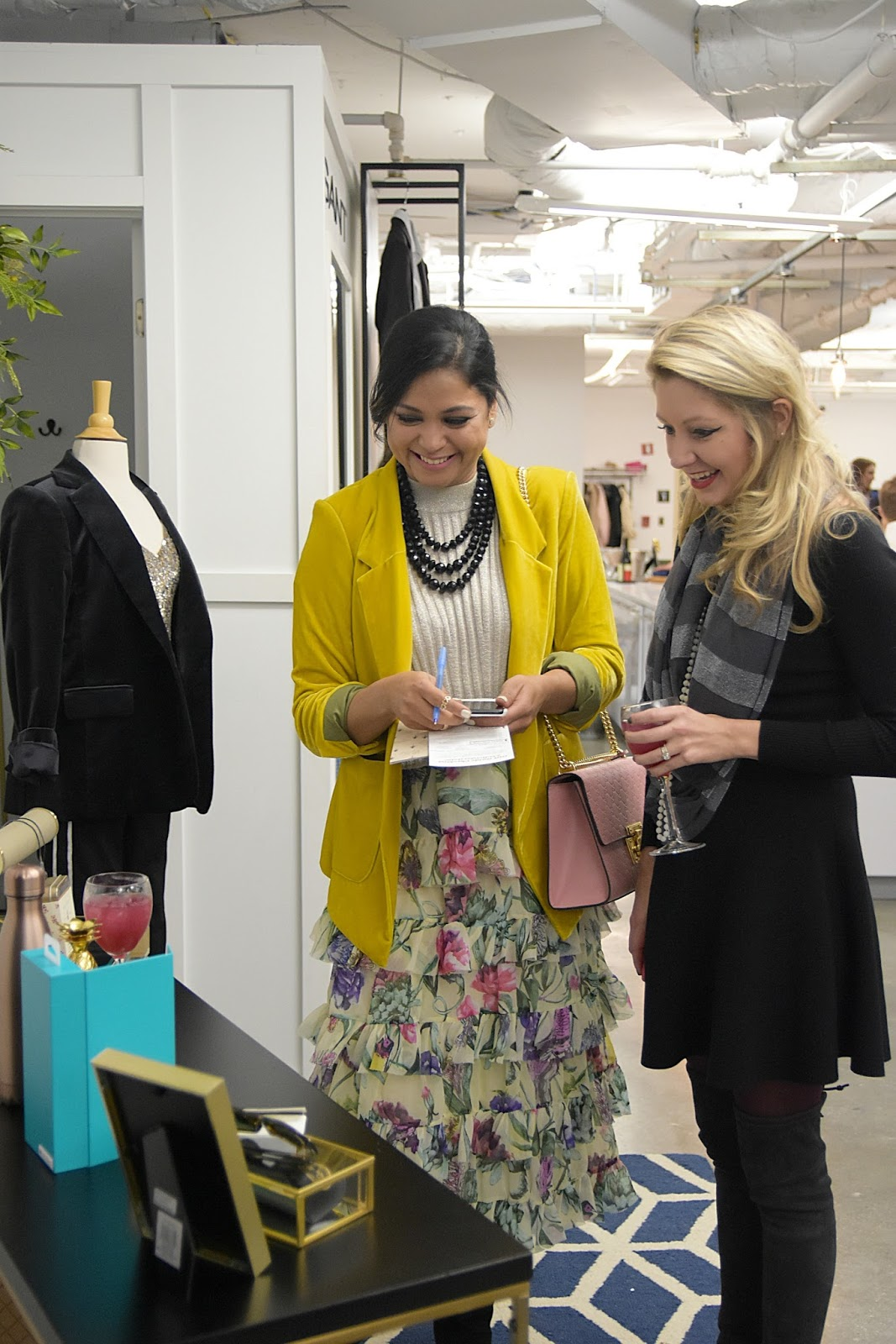 Trunk club event, TCholidaysinDC, holiday shopping, gift guide, blog post, myriad musings , ad