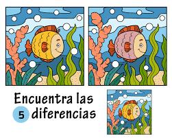 Juegos para ejercitar la memoria - Encuentra la diferencia