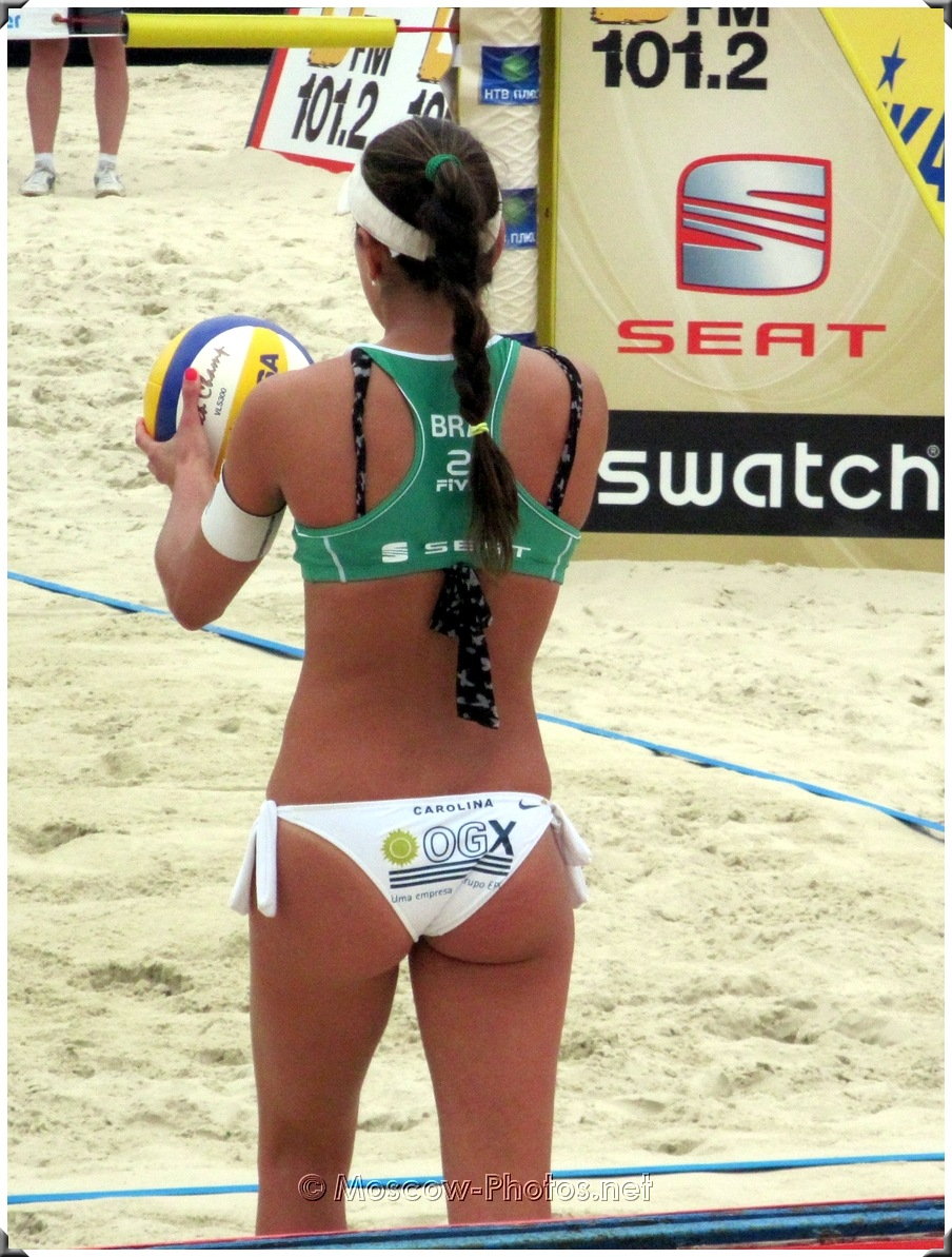 Brazil Beach Volley Player Carolina Salgado