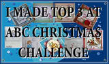 ♥ Top 3  bei ABC Christmas Challenge /Dezember 2012 ♥