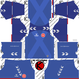 Denmark 2018 World Cup Kit -  Dream League Soccer Kits
