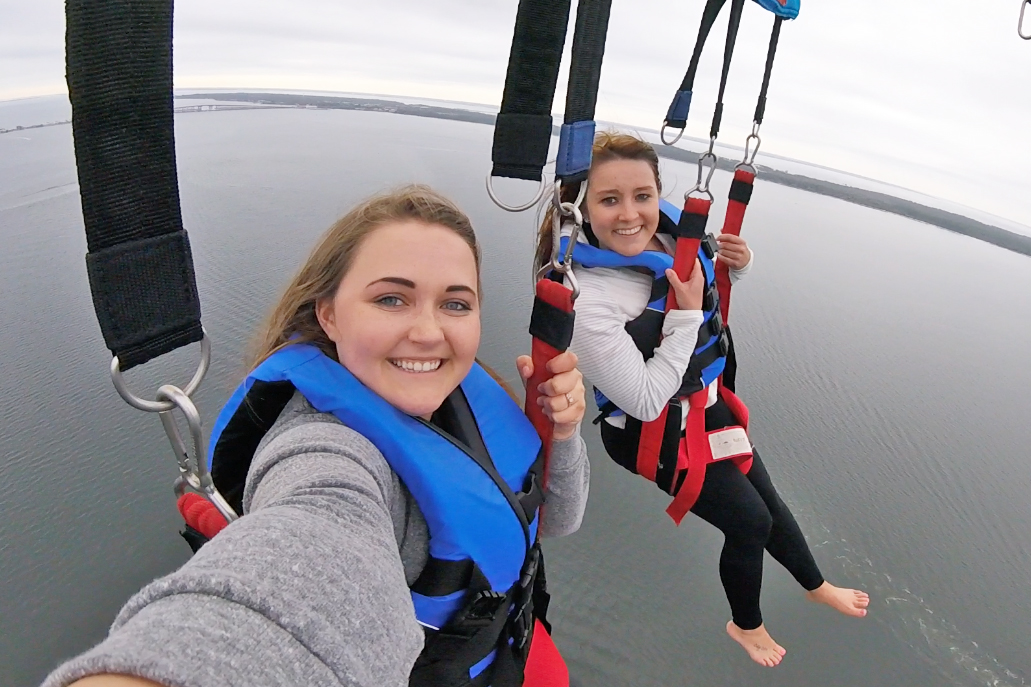 Navarre Beach, Pensacola Florida, Parasailing, Spring Break in Navarre, College Blogger, Travel Blogger, Lifestyle Blogger