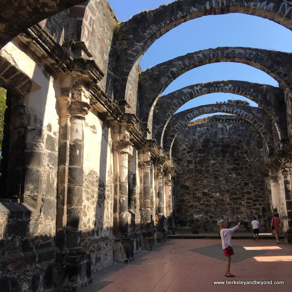 ruins of La Marinera church in San Blas on Riviera Nayarit in Mexico