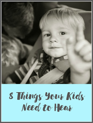 things kids need to hear