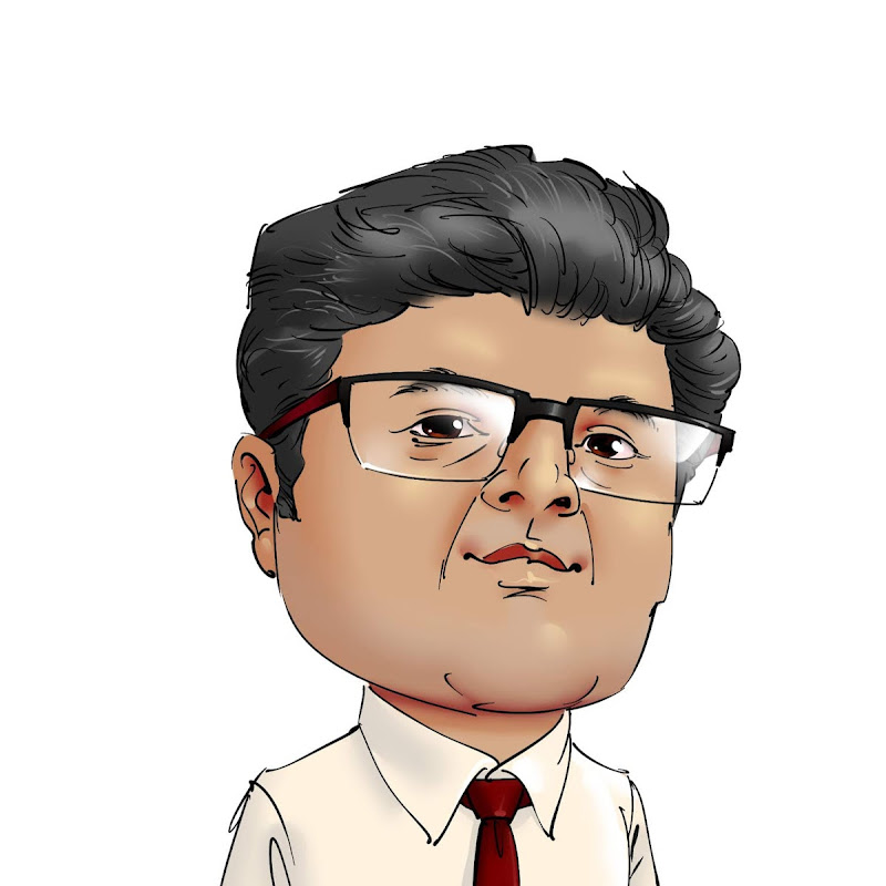 funny cartoon caricature anindya