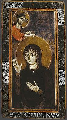 Ιταλικό αντίγραφο του 11ου αιώνα της Παναγίας Αγιοσορίτισσας