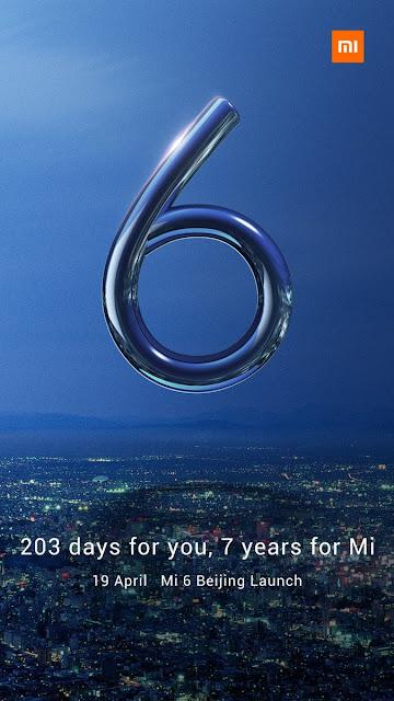 Xiaomi Mi 6 Resmi Rilis Bulan Ini di Beijing, Hadir dengan Dua Varian Mi6 dan Mi6 Plus