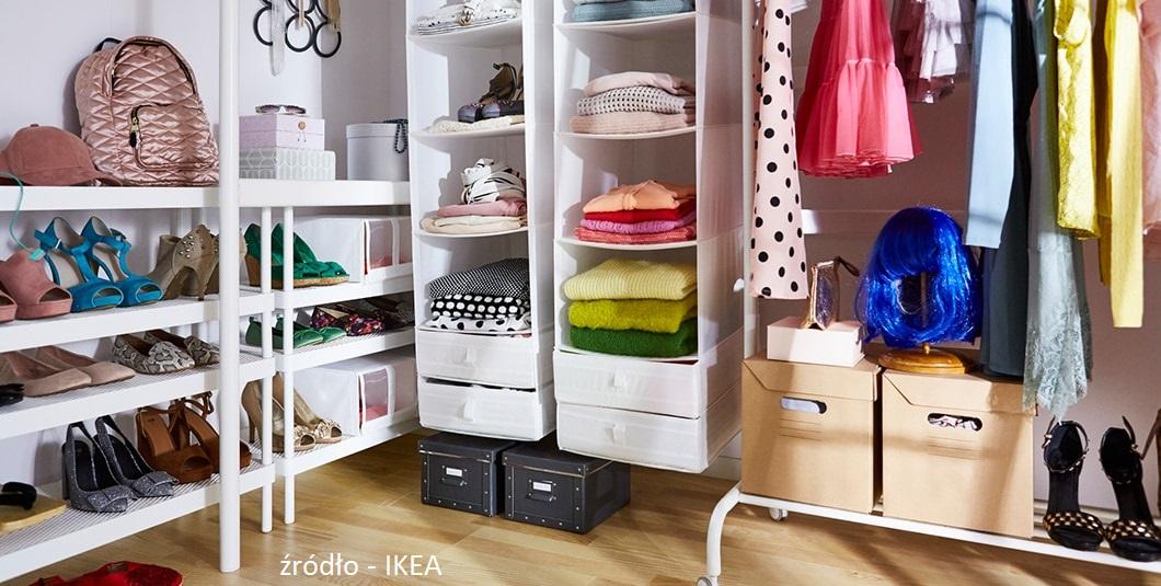 Jak zorganizować miejsce w szafie