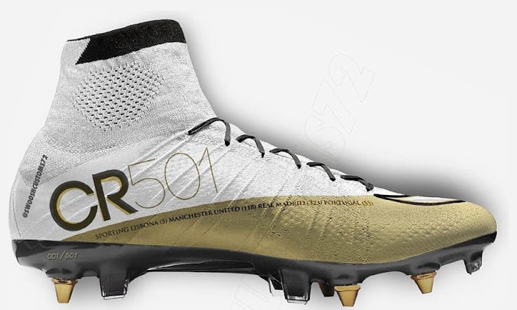 cheap for discount e896d 1d821 Nike Mercurial Superfly  CR 501  Concept Cleats