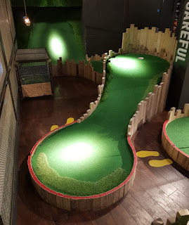 Mini Golf at Lane7 in Newcastle