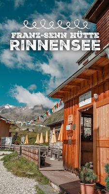 Franz-Senn Hütte - Rinnensee | Wandern im Stubaital Tirol | Wanderung in den Stubaier Alpen | Tourenbericht + GPS-Track