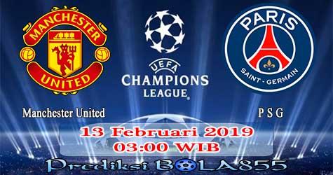 Prediksi Bola855 Manchester United vs Paris Saint Germain 13 Februari 2019
