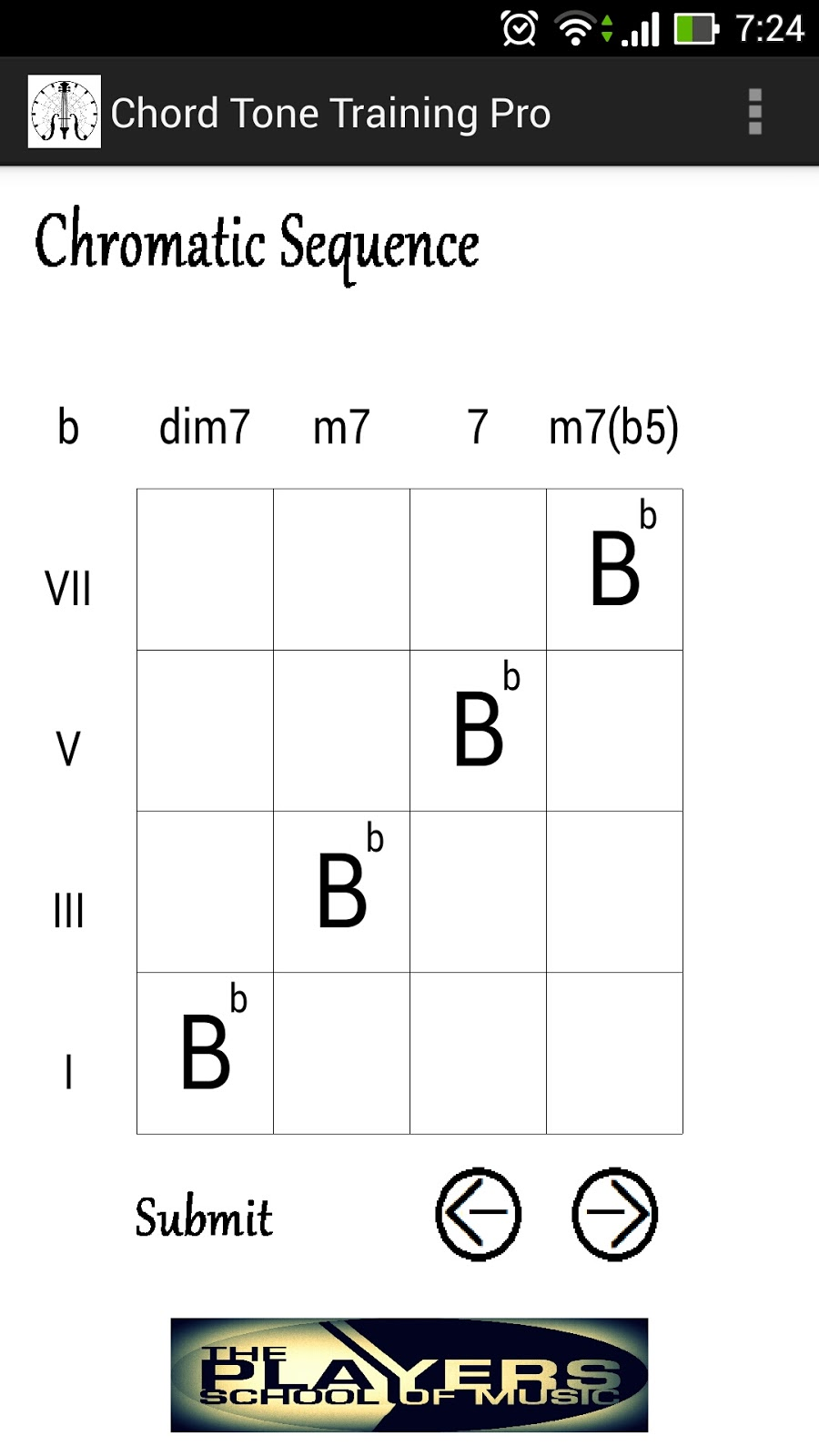Daniel的音樂學習筆記: (5)和弦組成音練習程式 - Chord Tone Training Pro