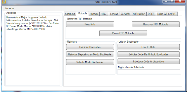 FRP Lock Remove/Unlock/Bypass Tool Latest Version WithOut Box Free Download