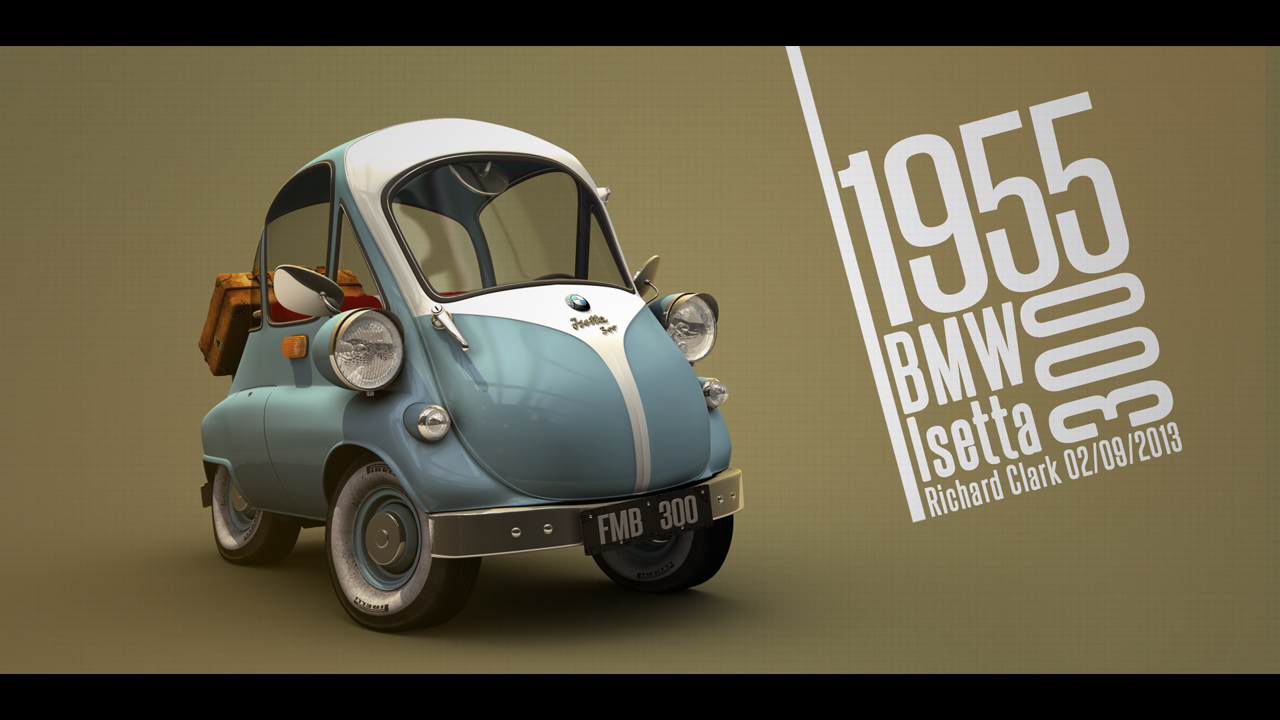 Richard Clark: 1955 BMW Isetta 300