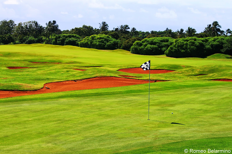 Hole 2 Kiele Mauka Kauai Lagoons Golf Club Hawaii