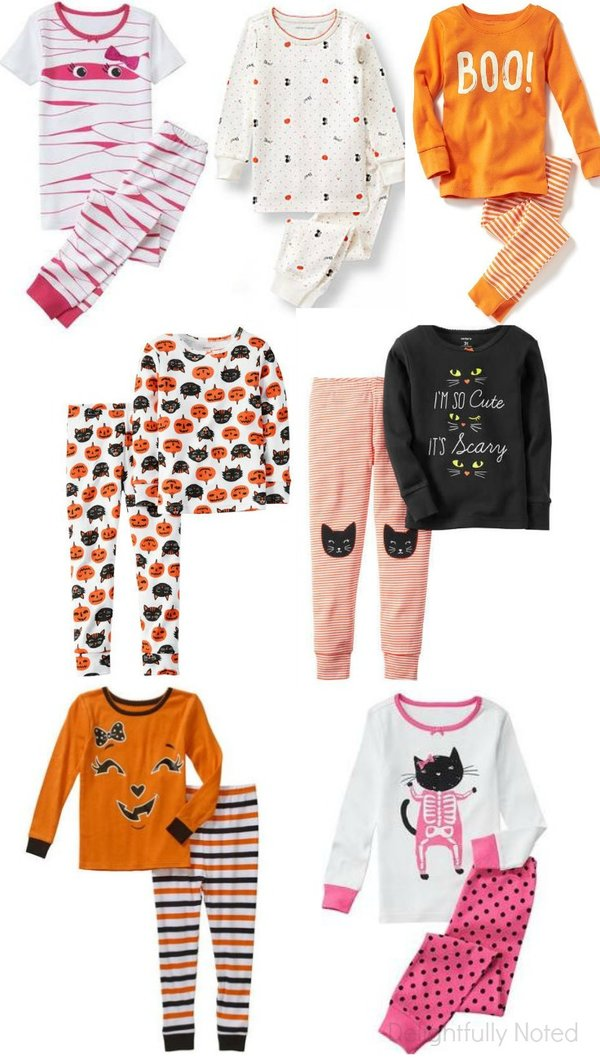 girl's halloween pajamas