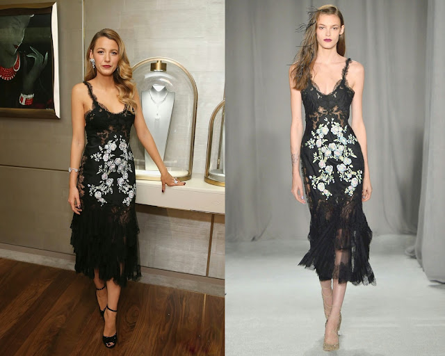Blake Lively in Marchesa – Van Cleef & Arpels Celebrates The Redesigned New York 5th Avenue Flagship Maison
