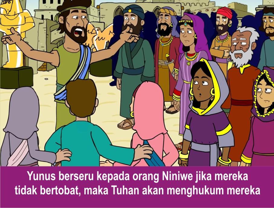 Komik Alkitab Anak: Yunus di Perut Ikan
