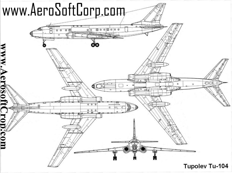 Tupolev Tu 104 Article