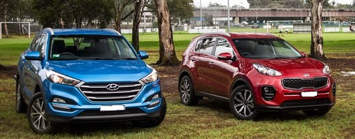 New Hyundai Tucson 2017 VS New Kia Sportage 2017