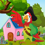Games4King Pirate Parrot Rescue